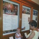 The first youngest pilgrim visiting the old chapel